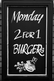 2-4-1 Burgers Every Monday Night thumbnail