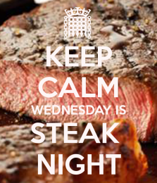 Wednesday is Steak Night thumbnail