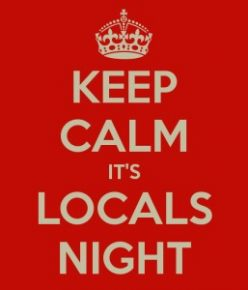 Locals Night – Tuesdays in October & November thumbnail