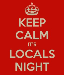 Locals Night – Tuesdays in October & November post image